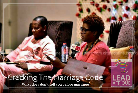 Cracking The Marriage Code – (What they don't tell you before marriage)