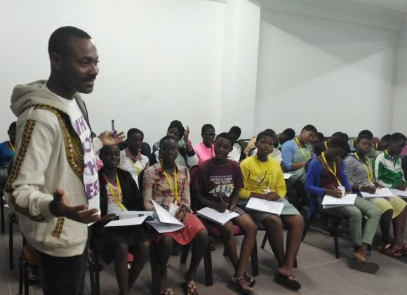 "Leadafrique International Organised Leading Ladies' Network Democracy Camp Dubbed ""Girls Governance Camp"" 2019."