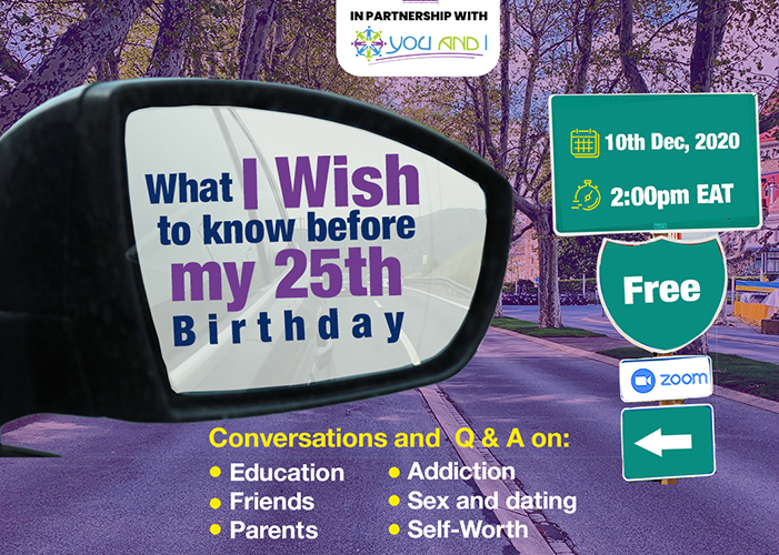 SURVEY FOR WHAT I WISH I KNOW BEFORE MY 25TH BIRTHDAY.
